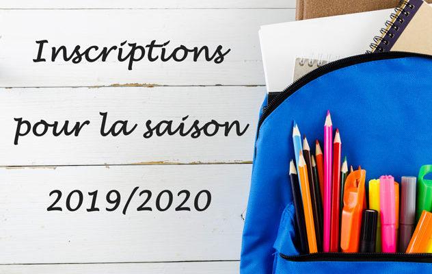 Inscriptions USI Volley 2019/2020
